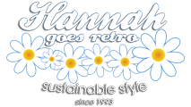 Logo Retro Clothing | Hannah Goes Retro | Retro-fashion | Sustainable Clothing | Hannah Retro